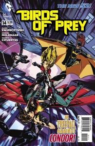 Birds of Prey #14 cover