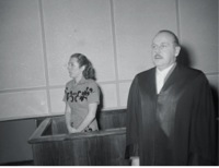 Christa Lehmann in court (Corbis)