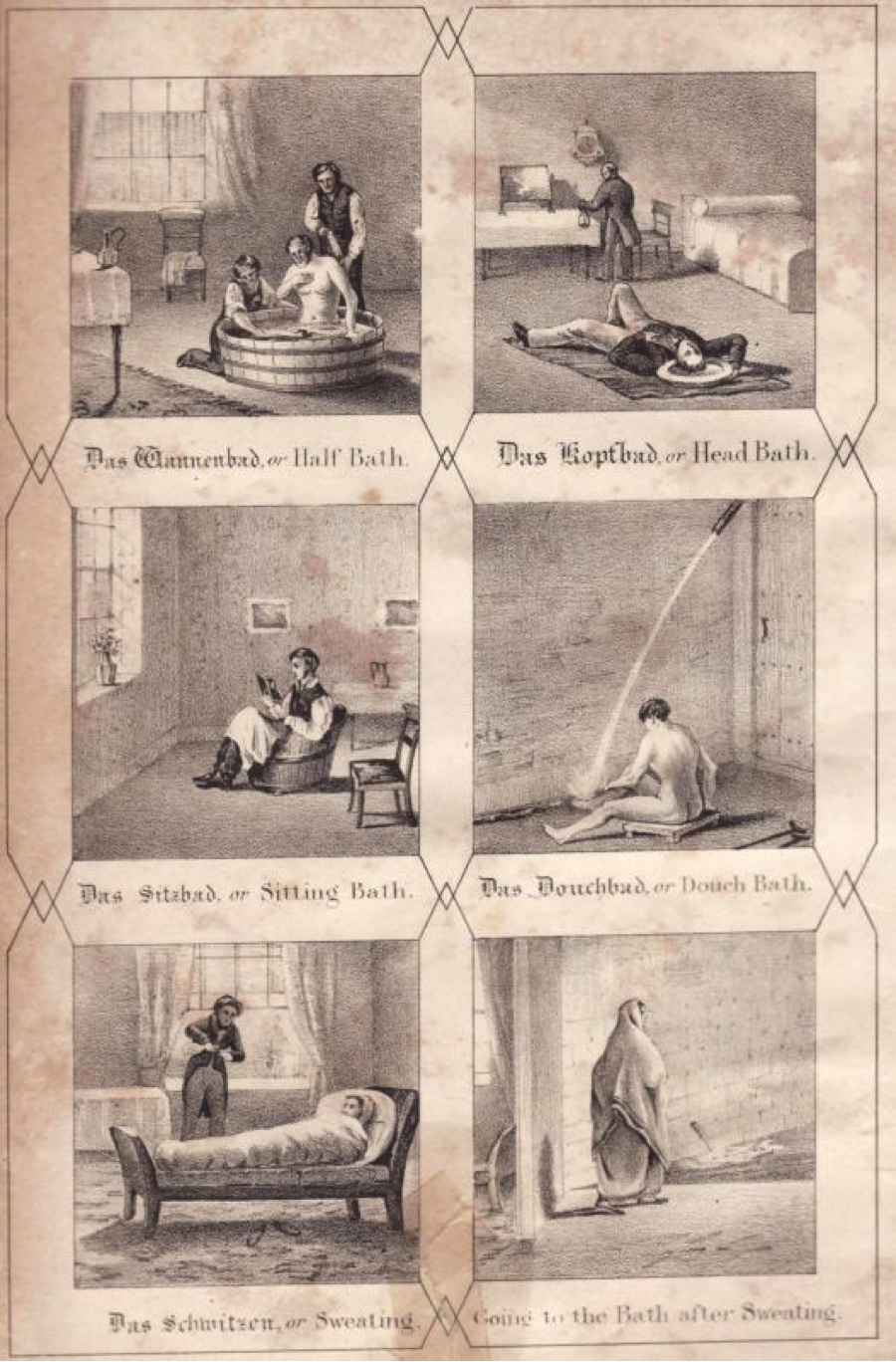 History of physical therapy treatment - The Wet Sheet Treatment The Upper And Lower Douches And The Plunge Bath Were Only Some Of The Therapies That Doctors At Malvern S Hydropathy Clinic
